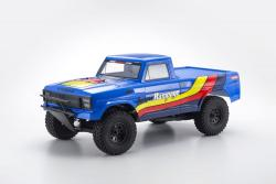 Outlaw Rampage 2WD Truck T2 bleu - 34361T2B