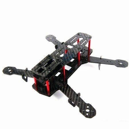 Chassis drone QA 250 Carbone
