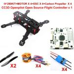 Kit drone 250 FPV low ridding