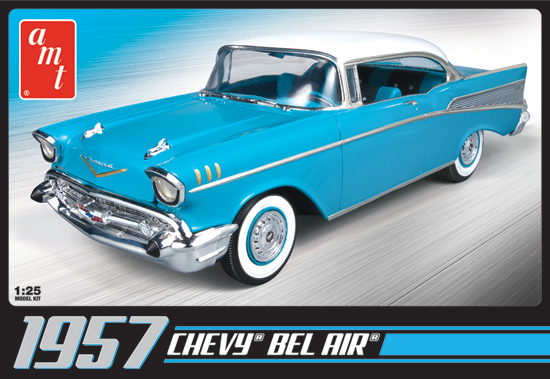 Maquette Chevy bel Air 1957