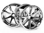 Jantes blast chrome 115x70mm s2 3257 Hpi-Racing