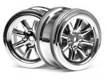 Jante 8 branches chrome  26mm/0mm 3807 HPI Racing