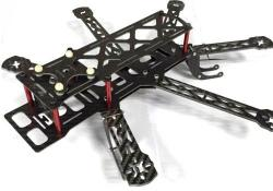 chassis mini hex carbone