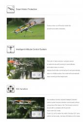 drone camera integree walkera Y100