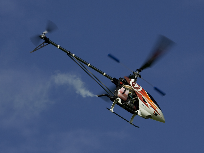 helicoptere thermique titan X50