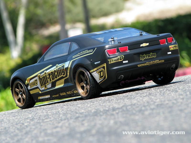 hpi sprint 2 drift camaro