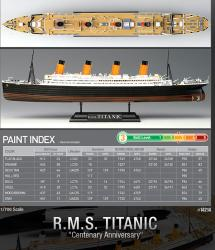 maquette titanic RMS academy 14214