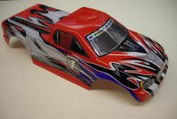 RC808 008 carrosserie rouge RC909T RC706T