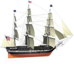 maquette USS constitution billng boats 052508