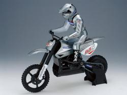 moto RC andersson brushless argent