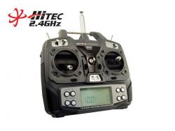 radiocommande optic6 hitec