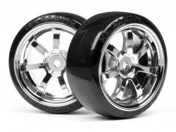 roue Drift + Jantes Rays 57S chrome
