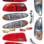 Autocollants interne sedan lights Jackal