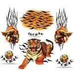 Autocollants interne jr.tigers Jackal