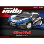 Notice Traxxas rally 1/10 - TRX7499