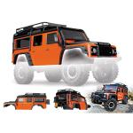 Carrosserie complete land rover defender adventure orange