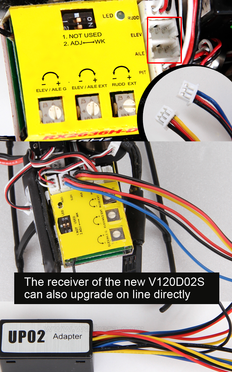new V120D02S RX2636HD
