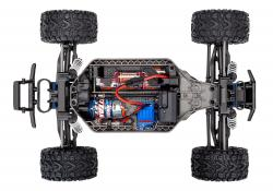 traxxas TRX67064 1 Rustler 4x4 Brushed chassis