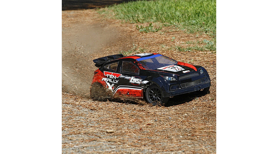 voiture RC rally