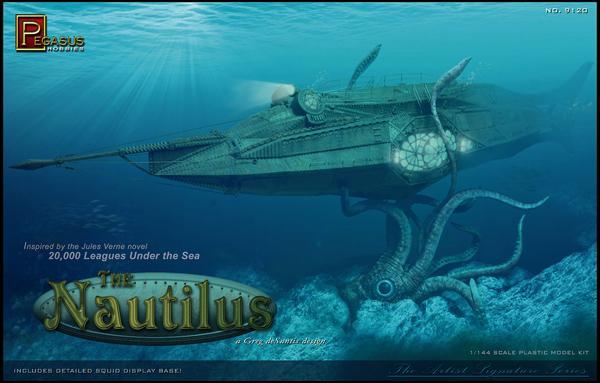 Achat Maquette Plastique Nautilus Net Loisirs