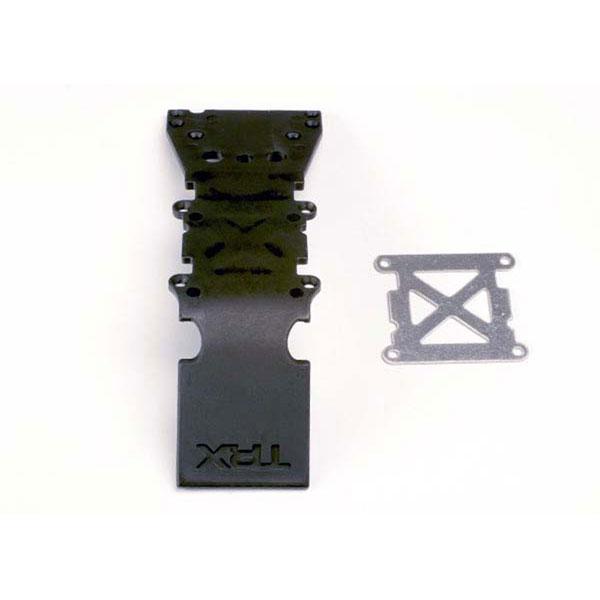 achat plaque de protection plastique noire plaque acier. Black Bedroom Furniture Sets. Home Design Ideas